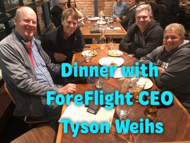 ForeFlights CEO Tyson Weihs